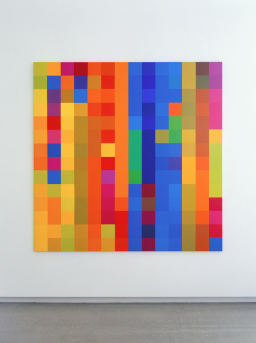 ROBERT OWEN   Afternoon Glow #2  2003 Synthetic polymer paint on linen 198 x 198 cm