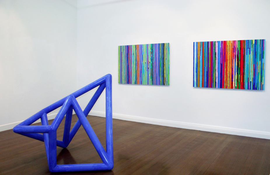 ROBERT OWEN   Spent Light  (Installation view)