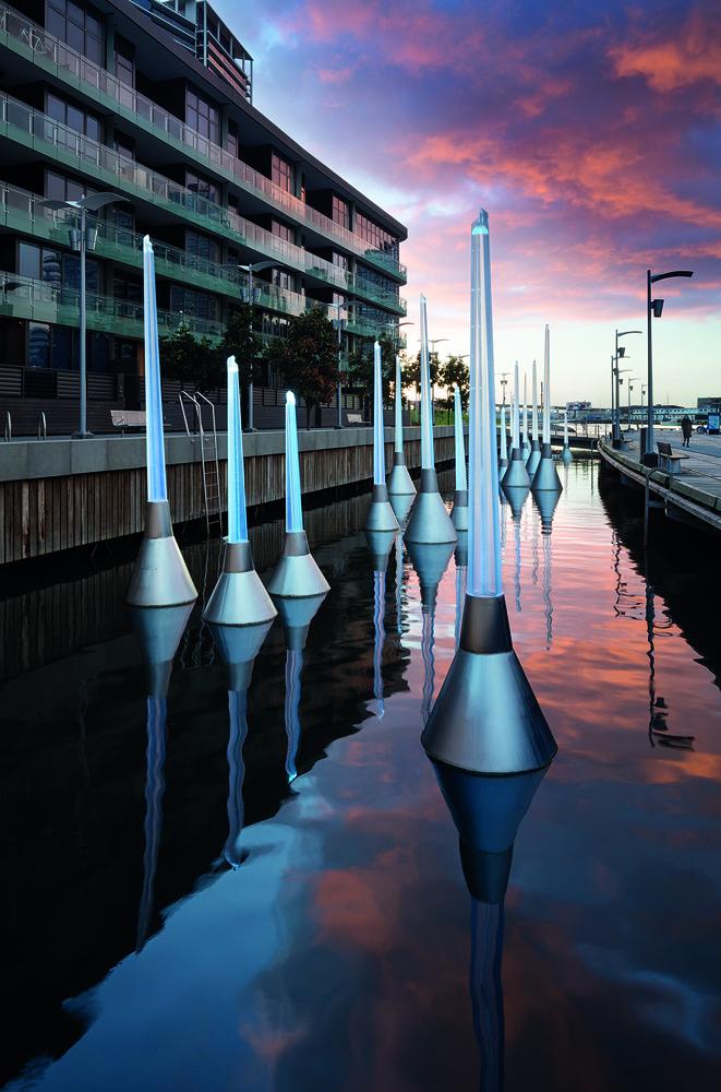 TRACY SARROFF   Light Buoys  2017 Install view Photo by:John Gollings