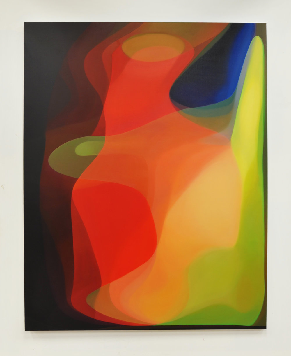 JOHN YOUNG   Spectrum III  2016 Oil on canvas 190 x 150 cm