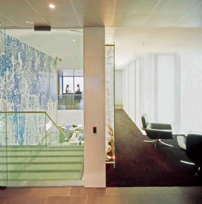 NIKE SAVVAS    Transcendental  2005 Blown glass Bubbles Commission for Deutsche Bank Sydney