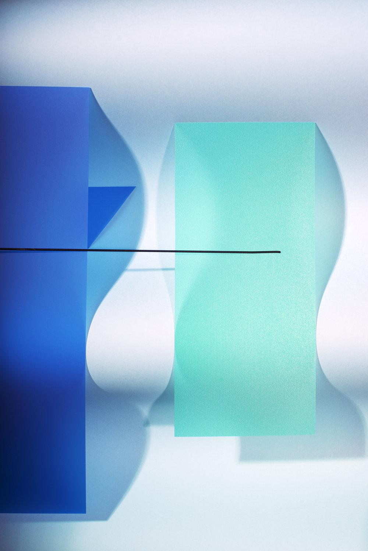 LYDIA WEGNER   Blue Wave  2017 Archival inkjet print 106 x 71 cm