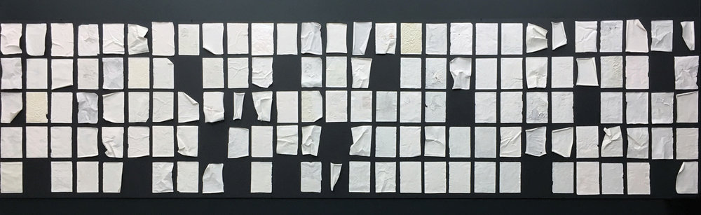 CYRUS TANG   All our Yesterdays  2016 Porcelain on Paper Dimensions variable