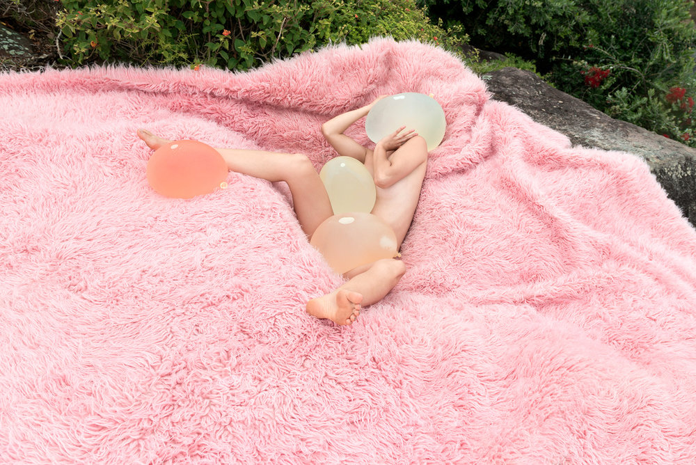HONEY LONG & PRUE STENT   Suction  2017 archival pigment print 72 x 108 cm