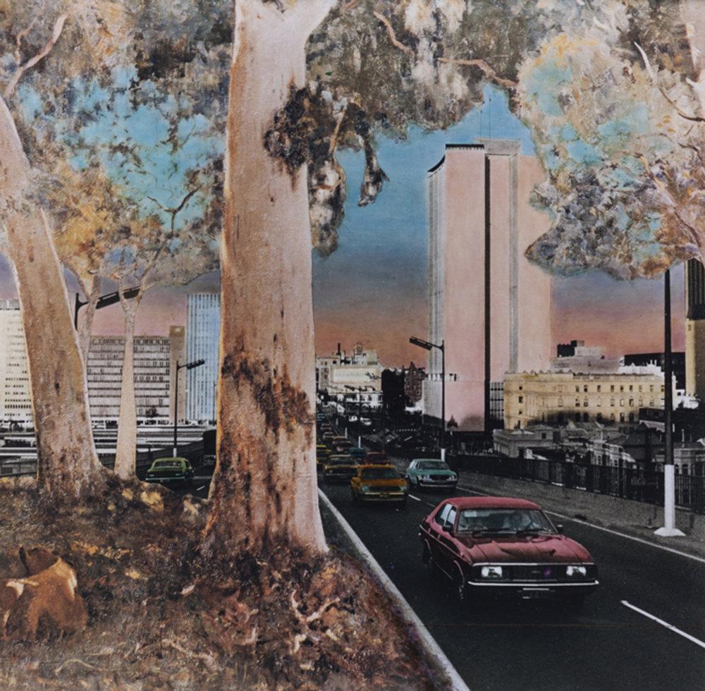 ANNE ZAHALKA   Silent Gums   1983 Pigment ink on rag paper 27 x 27.4cm