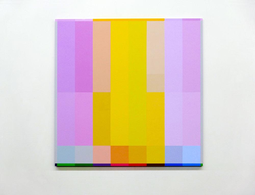 ROBERT OWEN   First Light #3  2016 - 2018 Synthetic polymer paint on linen 122 x 122 cm
