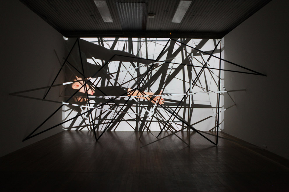 Julie Rrap,  Outerspace , 2010, Digital Video, 1.33min loop, edition of 5.