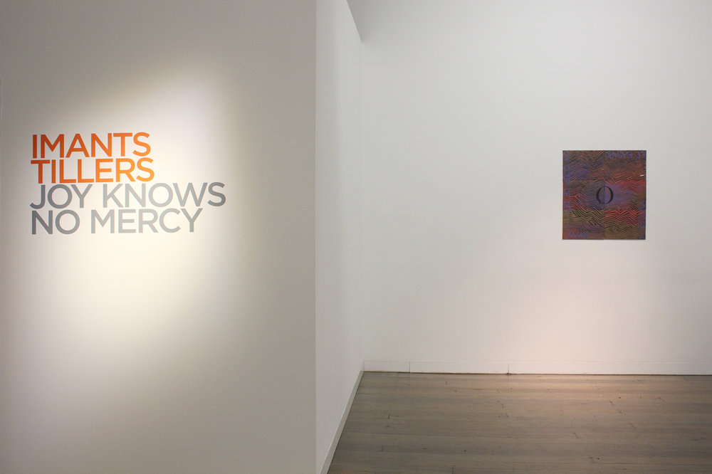 IMANTS TILLERS   Joy Knows No Mercy  Install View 2018