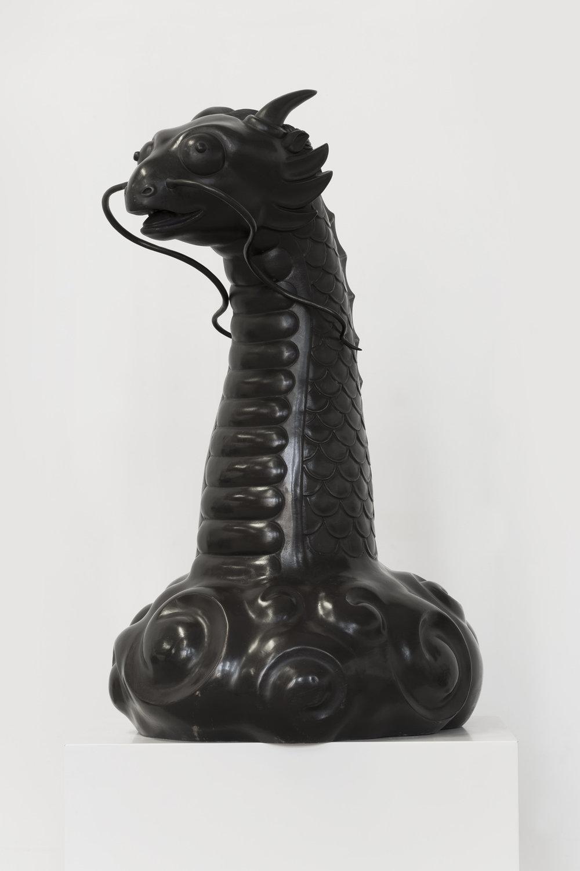 GUAN WEI   Power Dragon  2017 Bronze 75 x 35 x 45 cm