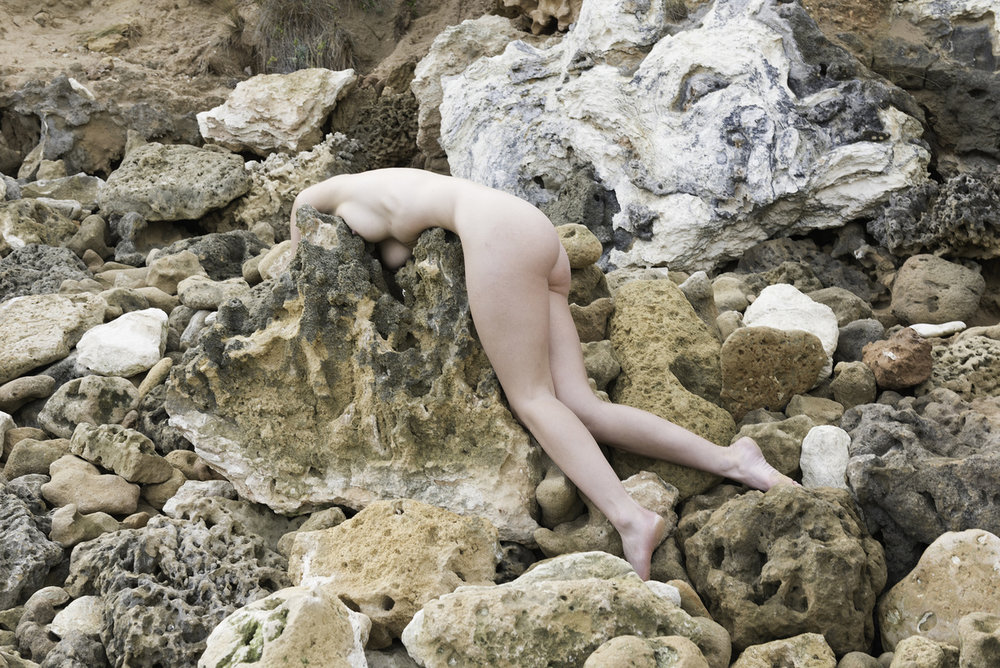 Honey Long & Prue Stent,  Rock Form III , archival pigment print, edition of 5, 72 x 108cm.