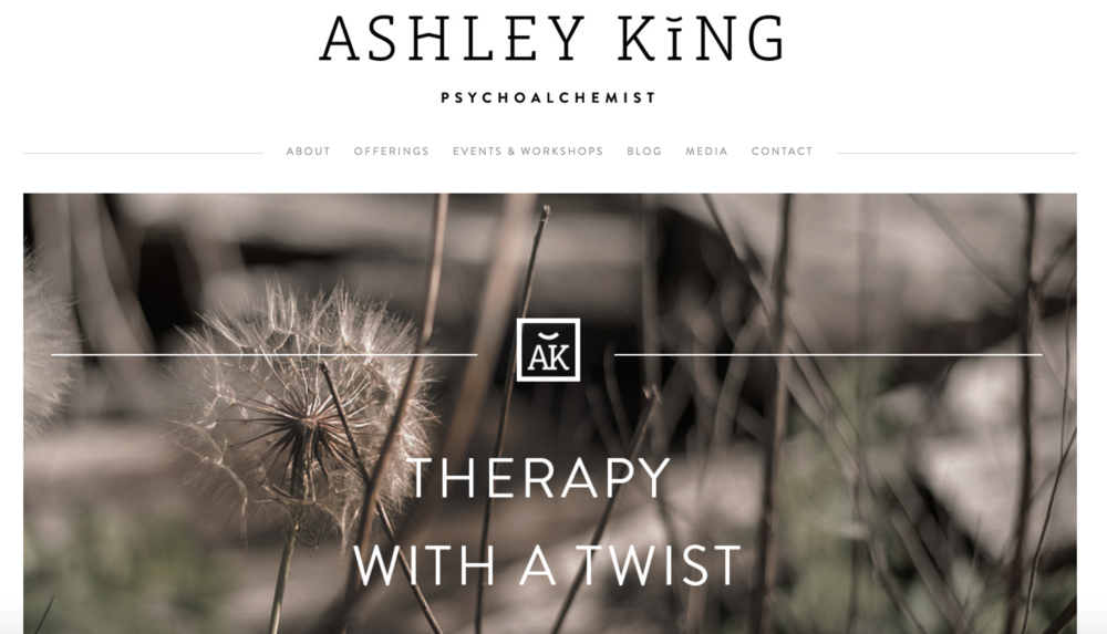 Ashley King psychoalchemy