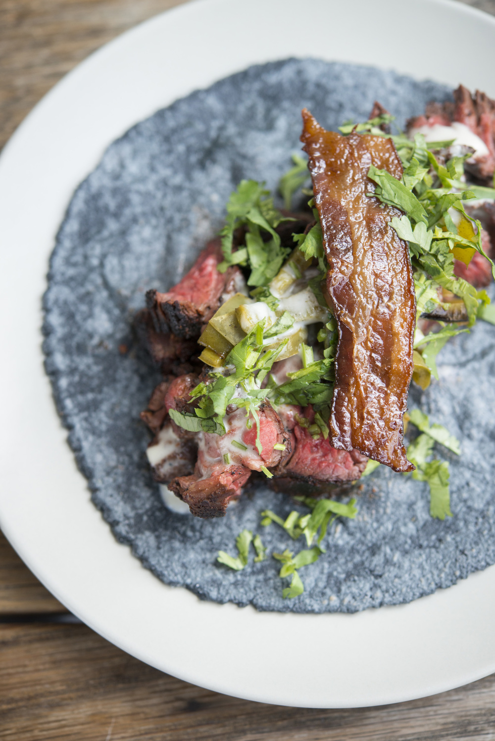 A la Carte - Arrachera Taco