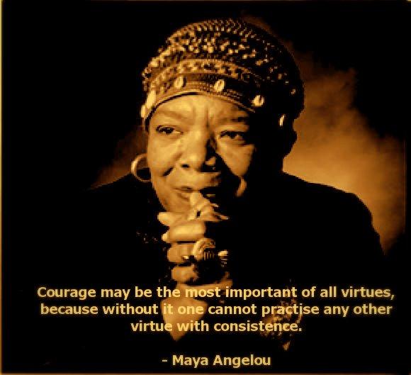maya-angelou courage