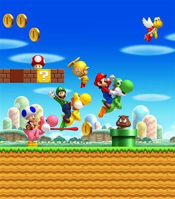 Super Mario Bros Wii nsmbw