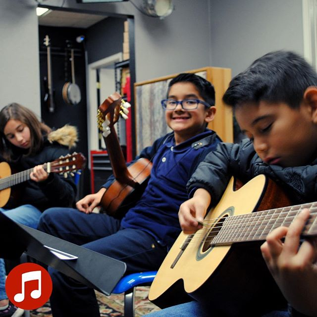At our school we infuse passion with learning!!! Music is fun and exciting, especially in our group guitar classes! * * * #visaliamusicschool #inspire #grow #learn #experience #music #today #group #guitar #lessons #signup #online #visalia #passion #learning #fun #exciting #challenging #vms