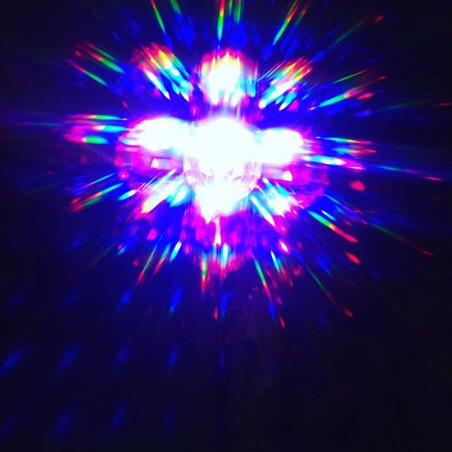 Intergalactic. #multidimension #rainbowdiscoclub #trippinonlife #originalhipster #thisiswhatmyrealitylookslike #rainbow #light #lightbeing #astral