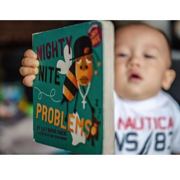 Oh my sweet candy! This picture!! I love how well loved this book is and that his mom has to hide it cause he loves it so much 😍Thanks for sharing @hanny_bobanny  #booksforthewin #babybooks #hiphopbooks #hiphop #jayz #jaybee #books #kidsbooks #99problems