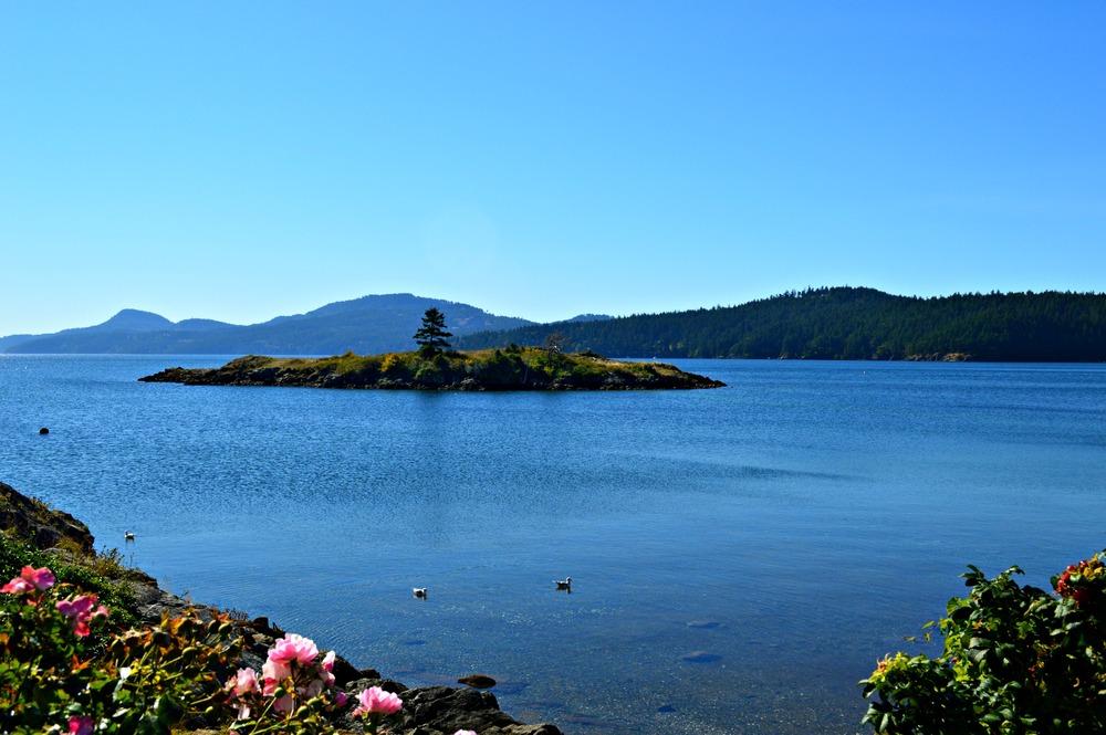 Indian Island off the coast of Orcas Island