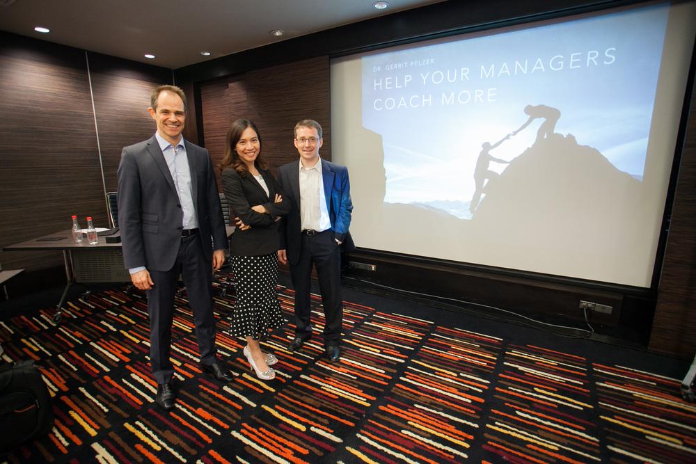 Dr. Gerrit Pelzer, Theera Tananchai and Martin Aldergard
