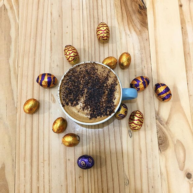 Happy Easter🐣 We will be open till 11am this long weekend  #sandgate #openpublicholidays #allthechocolate #happyeaster