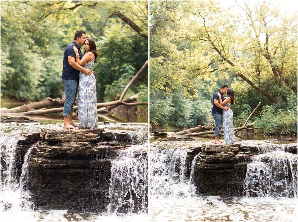 Waterfall Glenn Engagement Session, Lemont Illinois Engagement Session, Chicago Wedding Photographer, Naperville Wedding Photographer, Aurora Wedding Photographer30.jpg