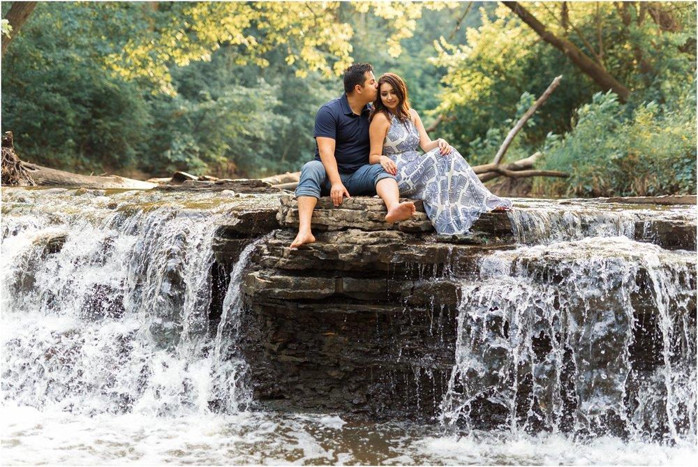 Waterfall Glenn Engagement Session, Lemont Illinois Engagement Session, Chicago Wedding Photographer, Naperville Wedding Photographer, Aurora Wedding Photographer32.jpg
