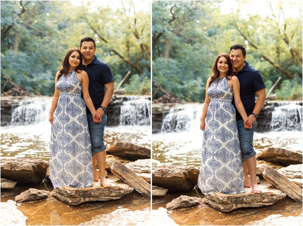 Waterfall Glenn Engagement Session, Lemont Illinois Engagement Session, Chicago Wedding Photographer, Naperville Wedding Photographer, Aurora Wedding Photographer37.jpg