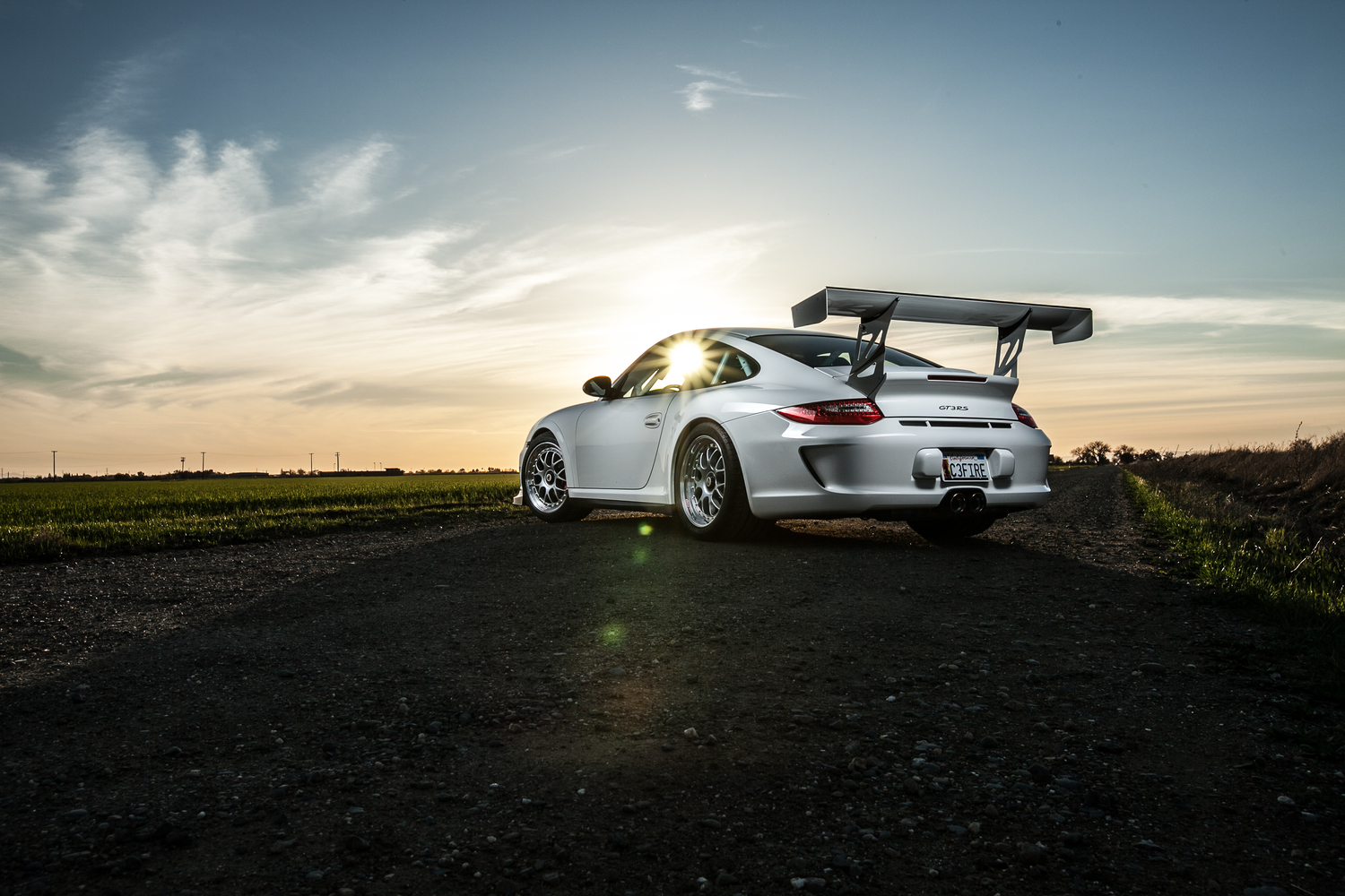 Porsche Gt3rs European Car Magazine Richard Le
