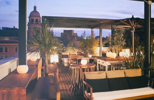 HOTEL PULITZER Purely central rooftop terrace - Plaza Catalunya