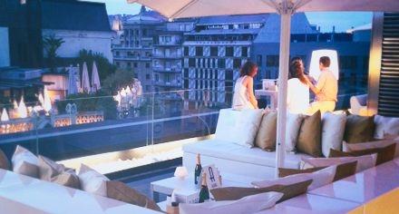 HOTEL   CONDES DE BARCELONA   Unique view of La Pedrera - Passeig de Gràcia