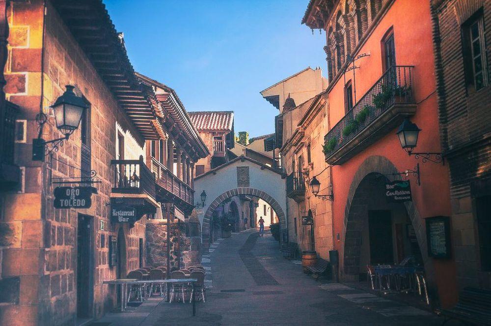 POBLE ESPANYOL -MONTJUIC