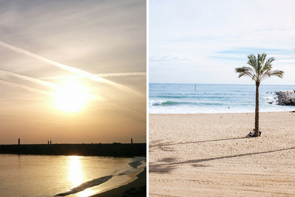 SUNRISES & SUNSETS - The beach of Bogatell and its Nautical Base keep an authentic character where you can find fishermen in the mornings, faithful to the tradition of the neighborhood.