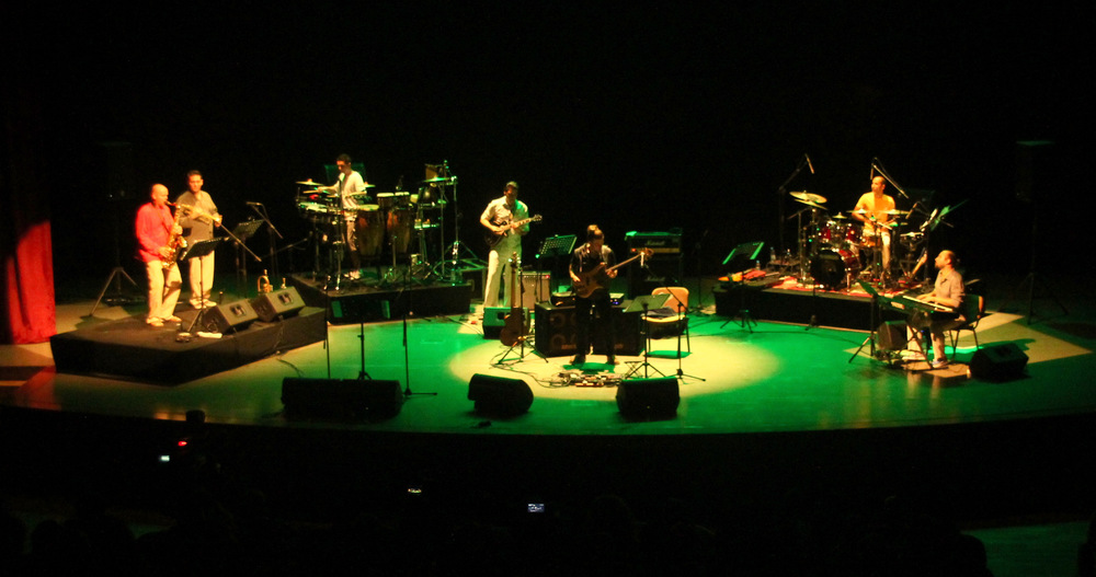Oytun Ersan Project performing at the 18th International Famagusta Art & Culture Festival