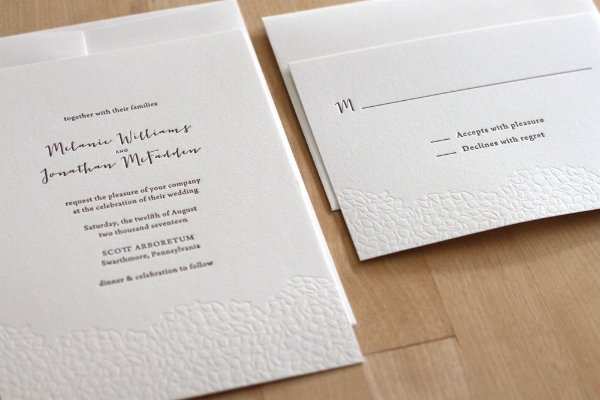 Letterpress Invitations New York City