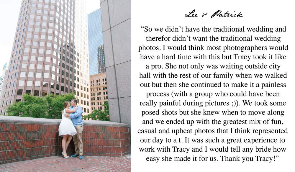 Boston Wedding Photographer 5 Star Review