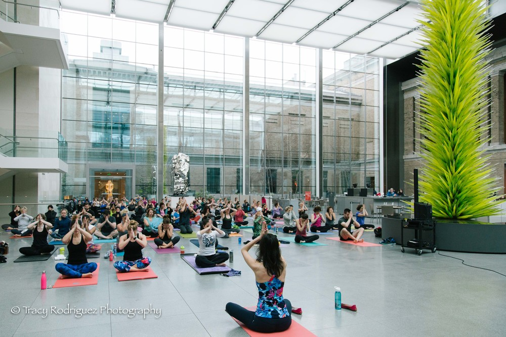 Boston Yoga Photographer at the MFA - Tracy Rodriguez Photography