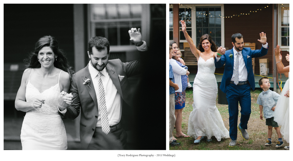 Camp Claire Wedding in Old Lyme, CT Photographed by Tracy Rodriguez Photography - Caitlin and Matt