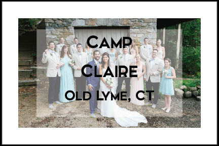 Camp Claire in Old Lyme, CT photography by Tracy Rodriguez Photography