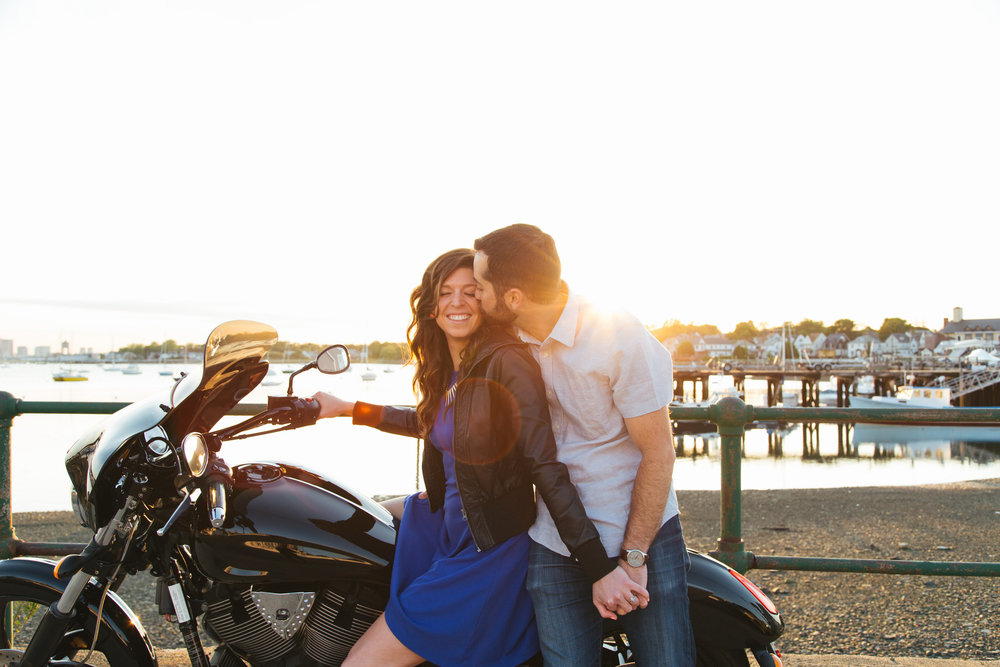 Caitlin and Matt's Winthrop Engagement Session