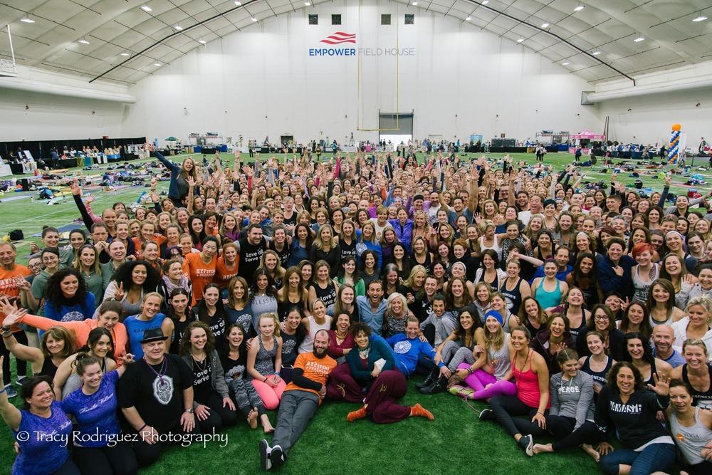 The largest group of yogis I've ever photographed! Head over to Facebook and tag yourself if you were at the event or donated to a participant!