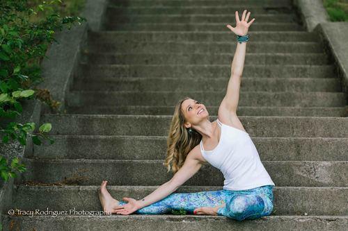 Milton, MA Yoga Photo Shoot at Houghton's Pond {W/ Kathryn