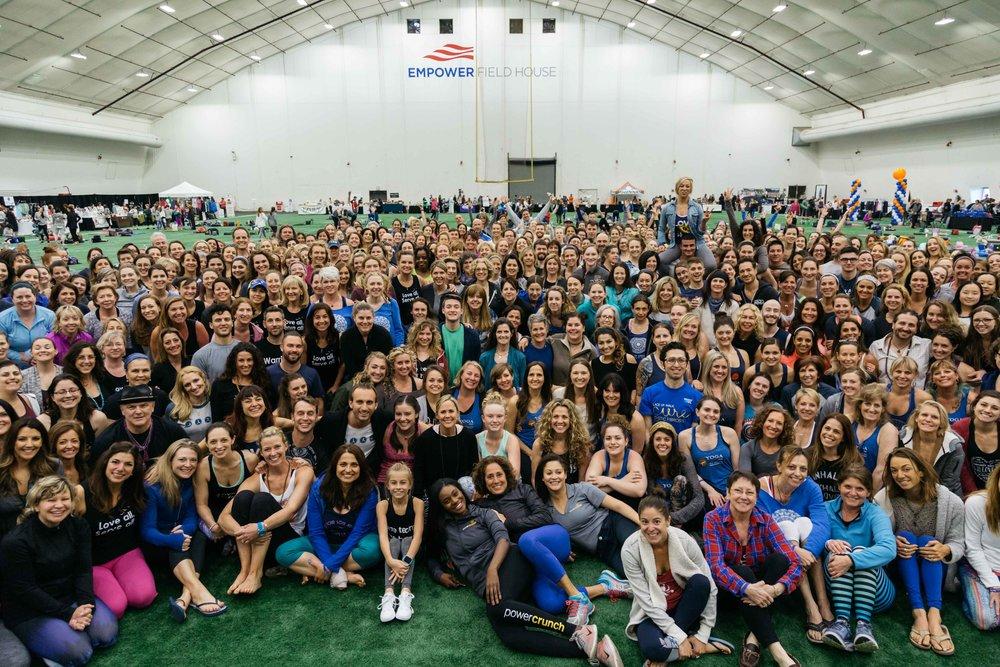 Yogathon 2017, 900+ yogis strong!