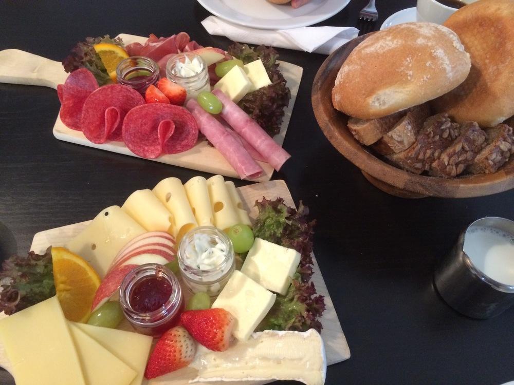Alpenfrühstück I & II: Cheese and Meat Breakfast Boards
