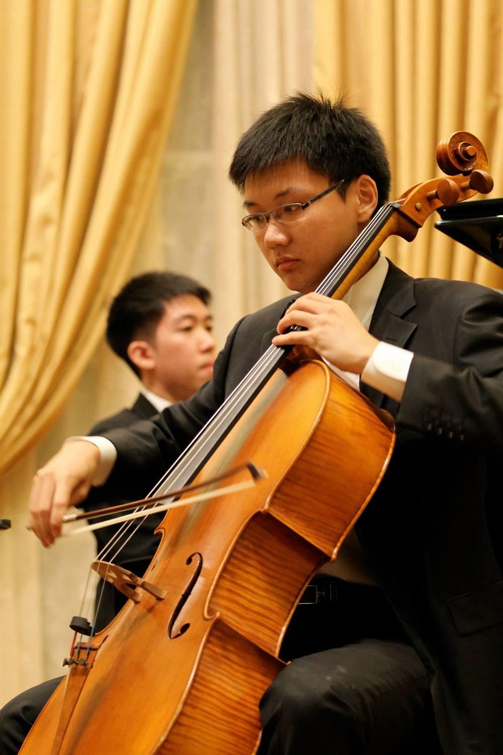 Zexun Shen, Cellist