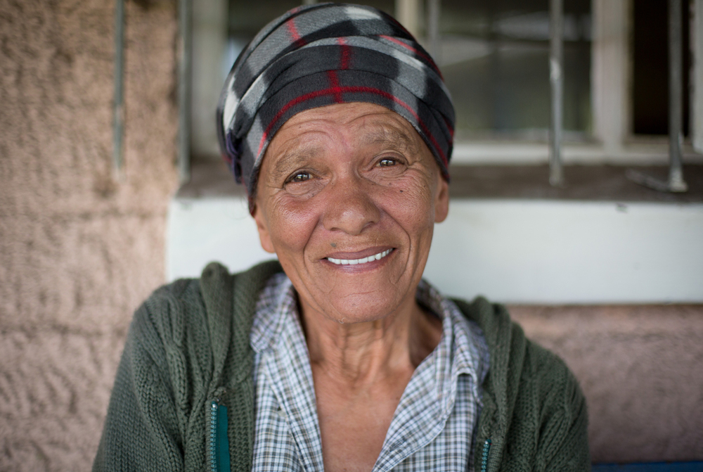 Lucille, 73 years old and living in Old Age Home