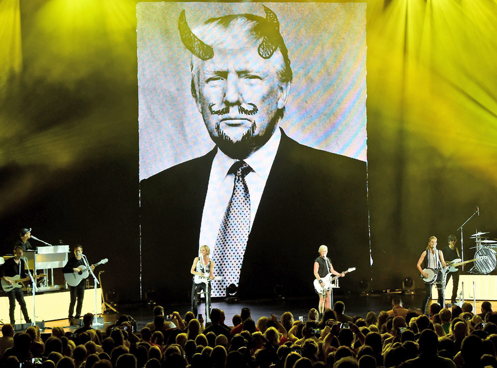 My favorite band, the Dixie Chicks- calling America on it's shit since 2003.
