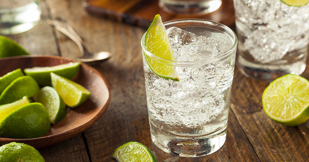 Gin, a drink for a good, nice, kind person