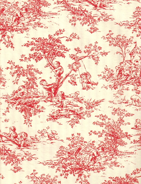 french toile reversible rich plus gift wrapping paper wholesale