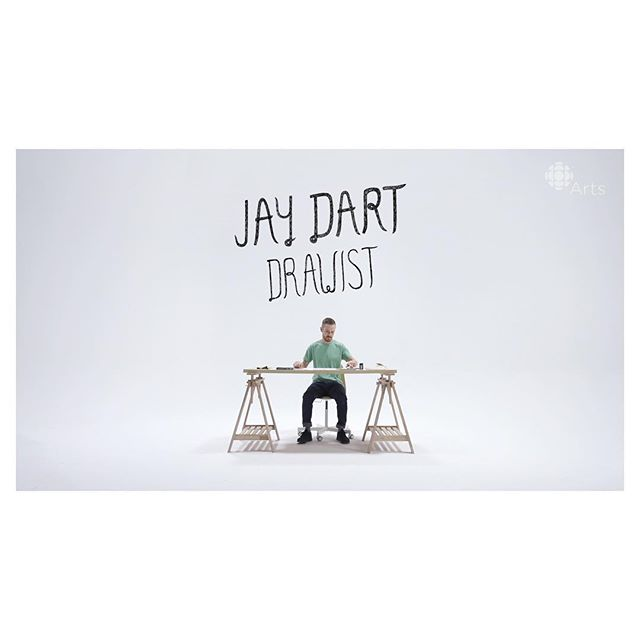I am a big fan of @jaydart and I had the privilege of making a video with him, Jiggs and some fellers. @cbcarts link in bio 👆🏻 #drawist #illustration #illustrator #artist #cbc #cbcarts