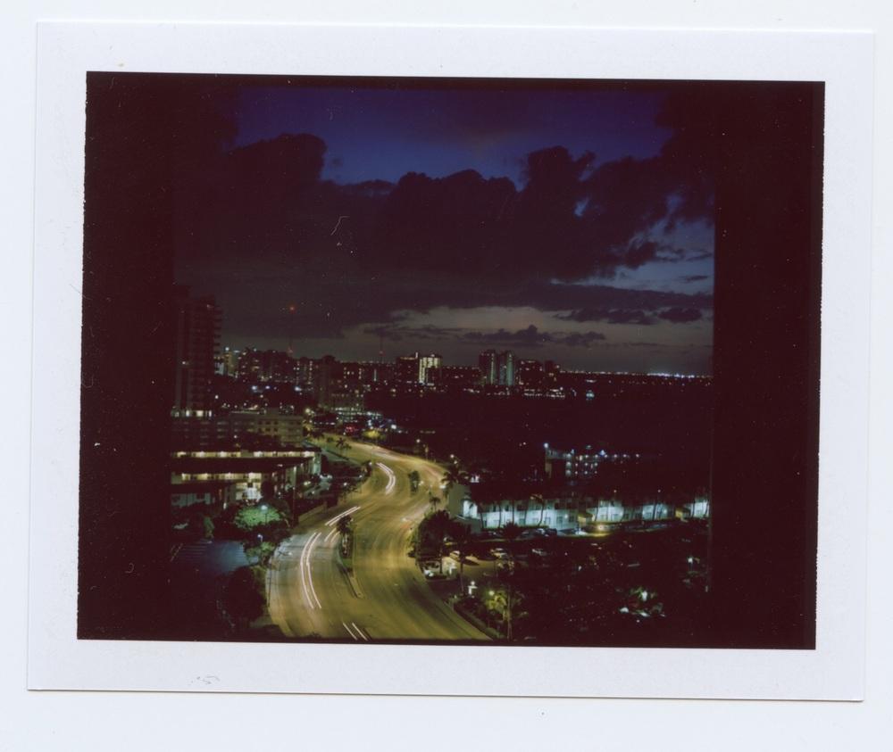 North Bay Village under the night sky.